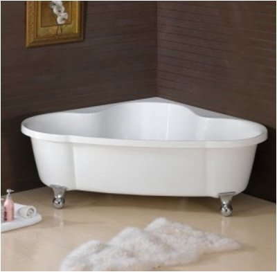 Clawfoot Jacuzzi Bathtubs Free Standing Corner Bath Corner Clawfoot Tub Corner