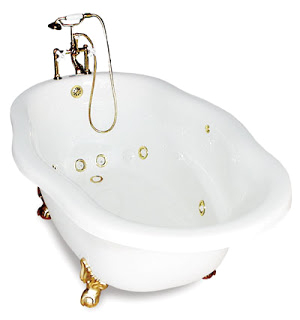 Clawfoot Tub for 2 Clawfoot Tub Jetted Claw Foot Tubs Awesome Choice
