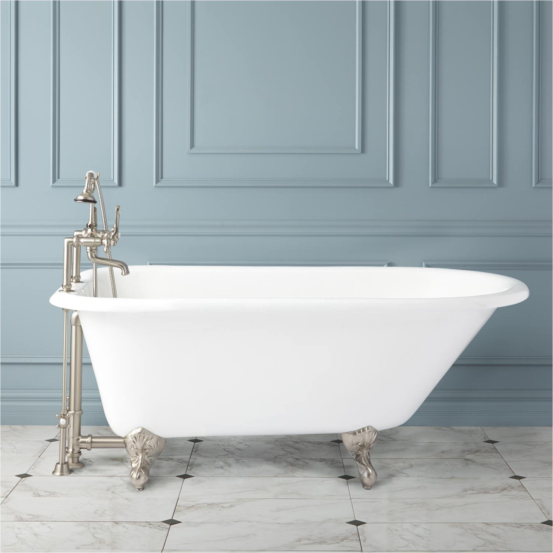 celine cast iron roll top clawfoot tub