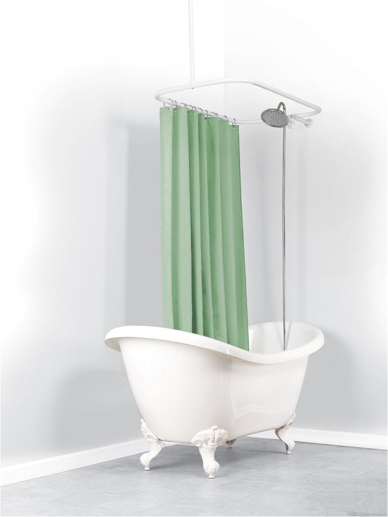 Club Foot Bathtub Bath & Shower Convert Your Tub Into A Full Clawfoot