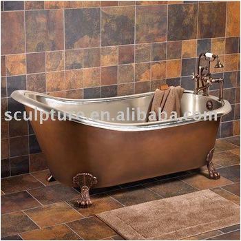 Hotel Decoration hand made copper bathtub