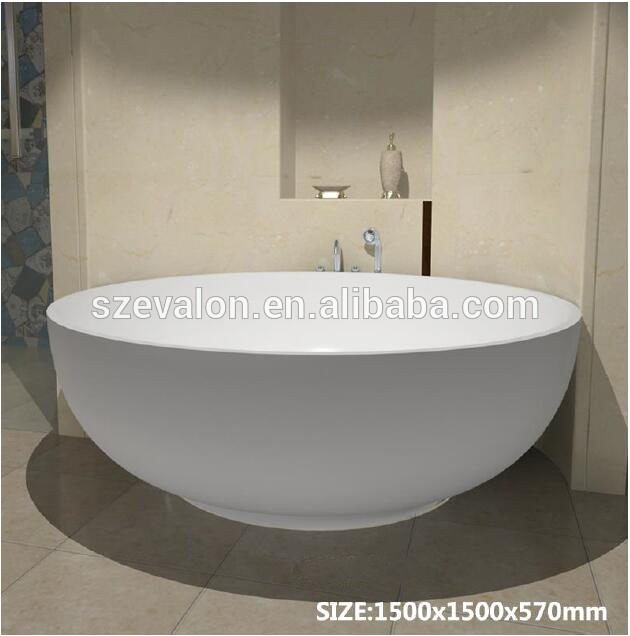 two person outdoor spa bathtub half