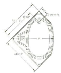 Corner Bathtubs Sizes Corner Bathtubs Dimensions
