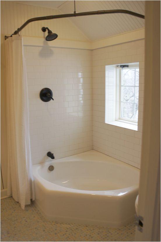 Corner Whirlpool Round Bathtub Nova Corner Tub Corner Tub with Shower Curtain