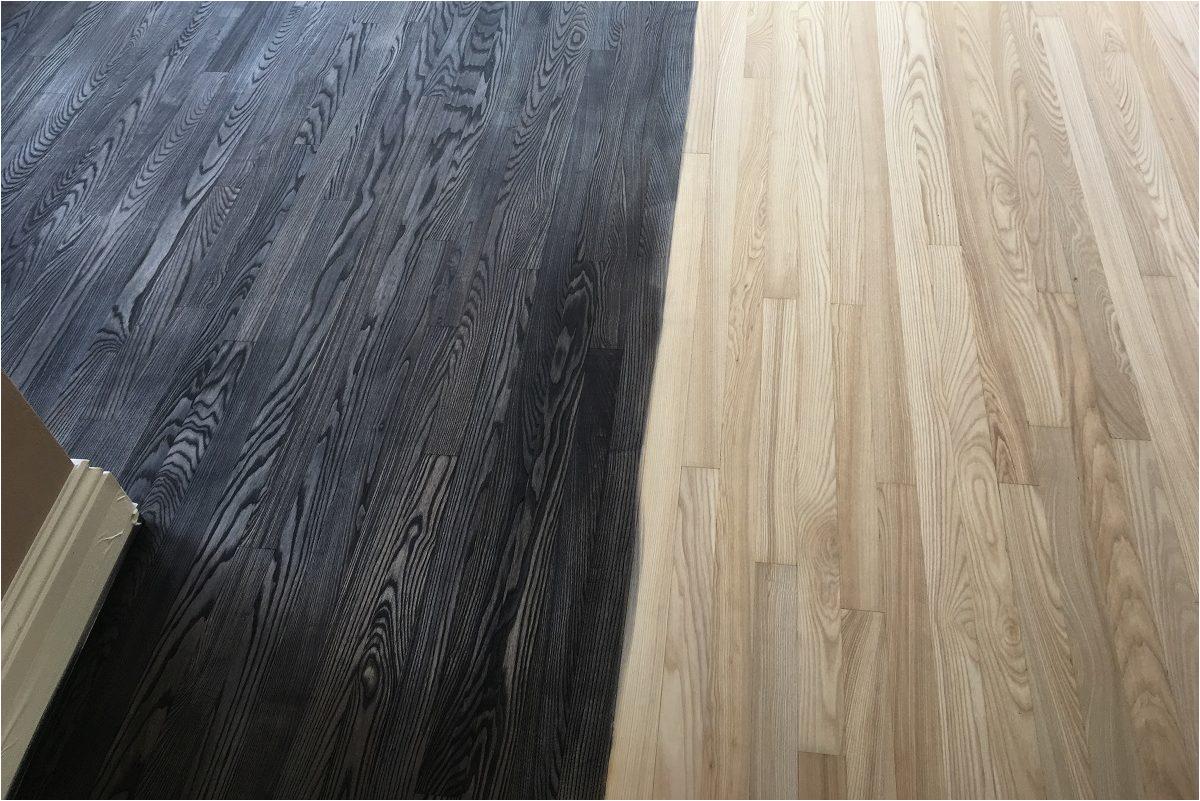 Dark Gray Stained Wood Floors Wood Floor Staining Advice Ultimate Floor Sanding