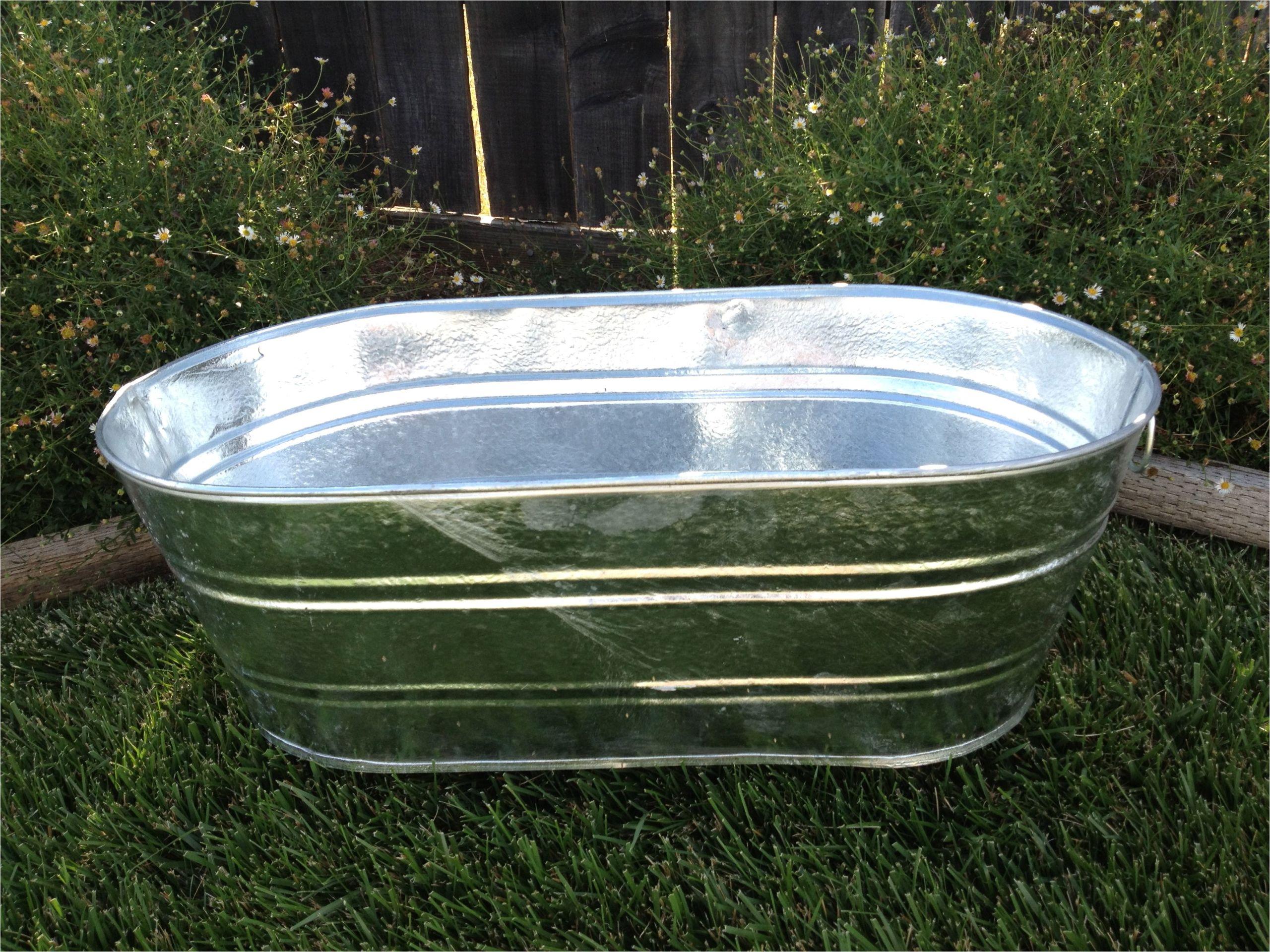 galvanized tubs for garden tubs design