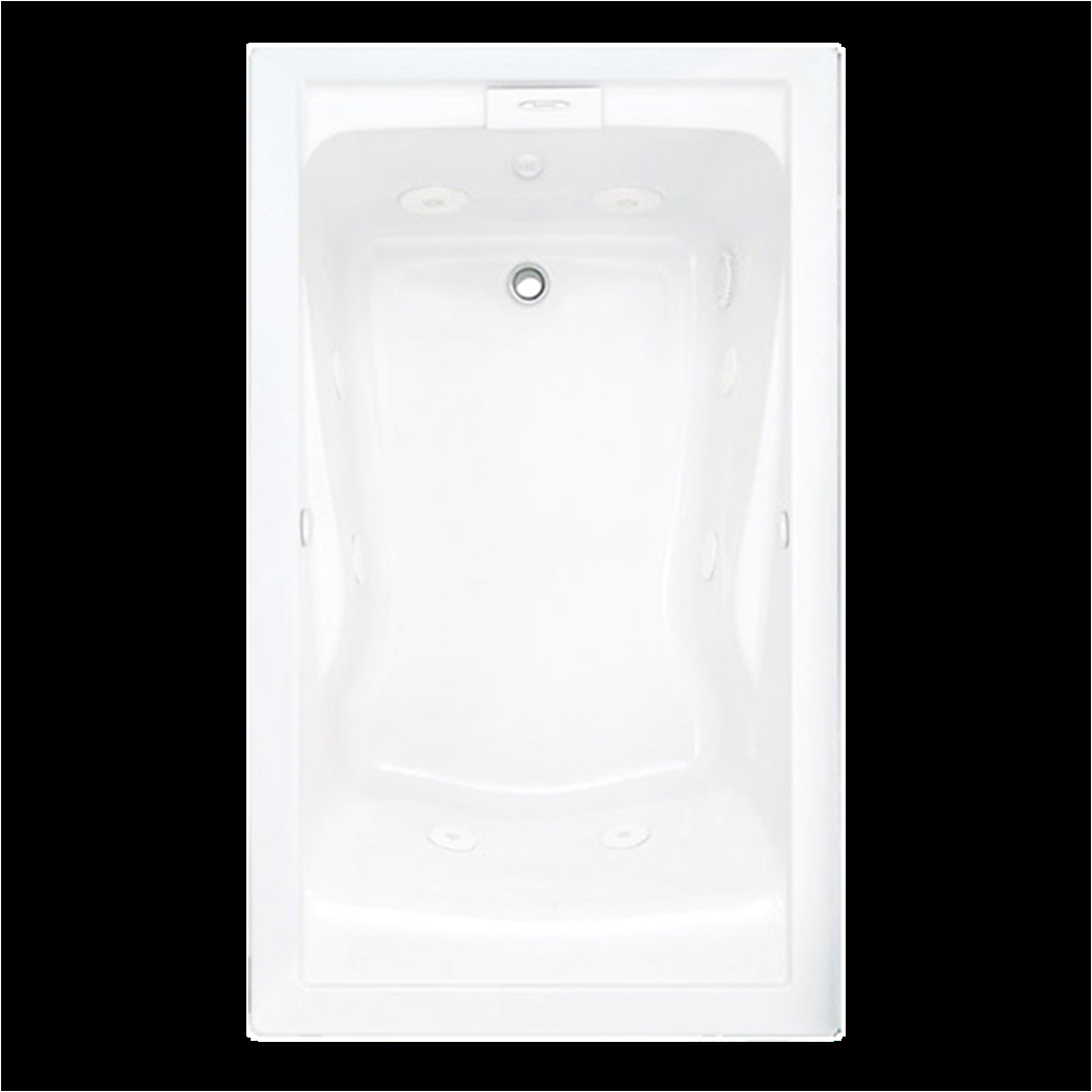 Deep Bathtubs Whirlpool Evolution 60×32 Inch Deep soak Everclean Whirlpool