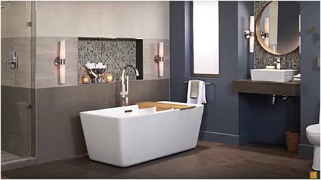 princeton recess bath above floor installation