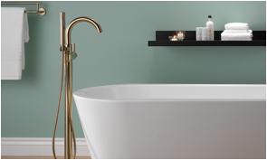 Delta Freestanding Bathtub Delta Faucet Introduces Freestanding Tub Filler to Its