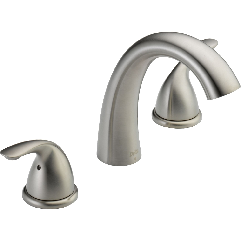 Delta Freestanding Bathtub Faucets Delta Faucet T5722 Ss Classic Brilliance Stainless Two