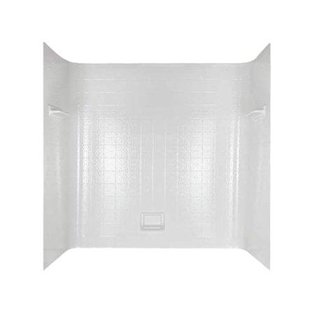 Delta One Piece Bathtub Delta 1 Piece Seamless Bathtub Tile Wall Kit 60 In