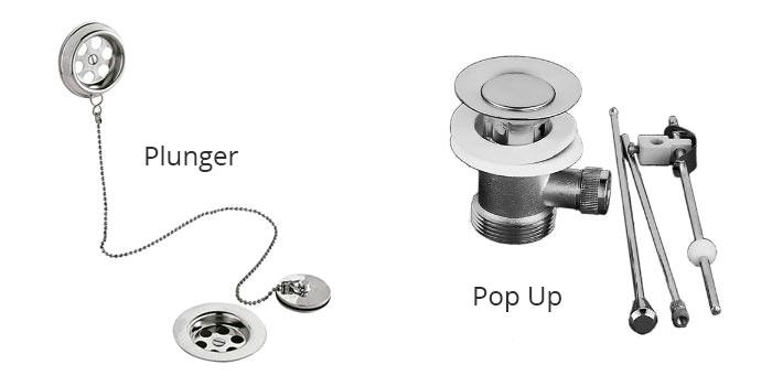 Different Types Of Bathtub Drain Plugs Unclogging Bath Tub Drains