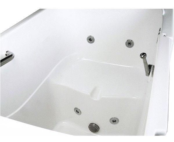 types of walk in bathtubs