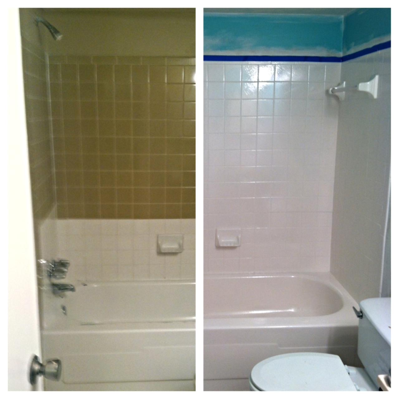 diy tub and tile reglazing