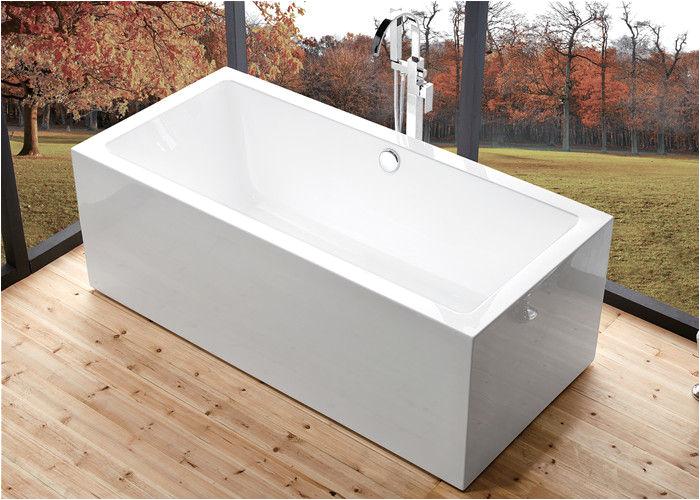sale wide 60 inch freestanding bathtub rectangular freestanding tub with end drain