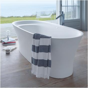 duravit cape cod freestanding soaker tub 73 l x 34 78 w x 24 58 h product