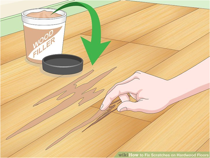 Easy Fix for Scratched Wood Floors 4 Ways to Fix Scratches On Hardwood Floors Wikihow