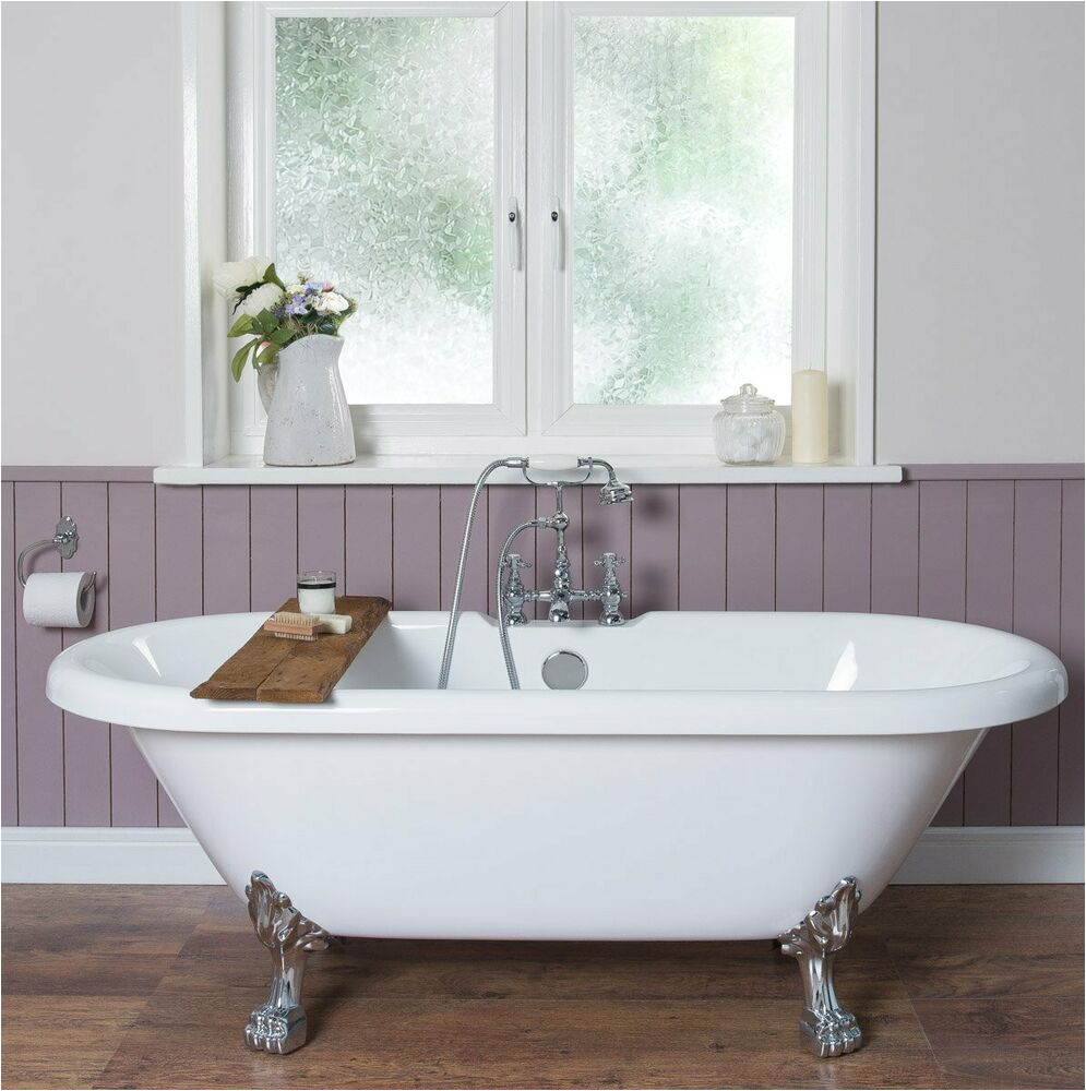 Ebay Freestanding Bathtub Traditional Designer White Bathtub 1695x740mm Freestanding