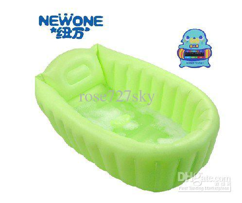 Eco Friendly Baby Bathtub 2019 Inflatable Baby Tub soft Inflatable Baby Bathtub Eco