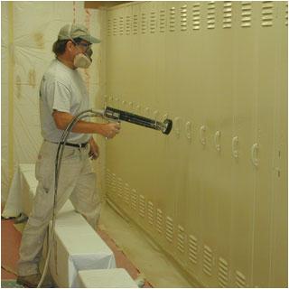 Electrostatic Painting Bathtub Electrostatic Spray