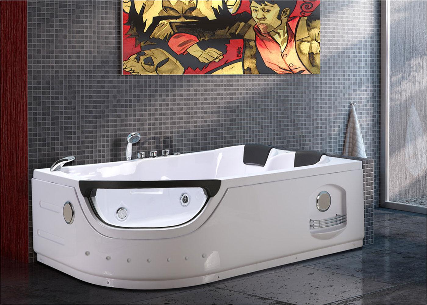 whirpool bathtub hot tub double pump elite