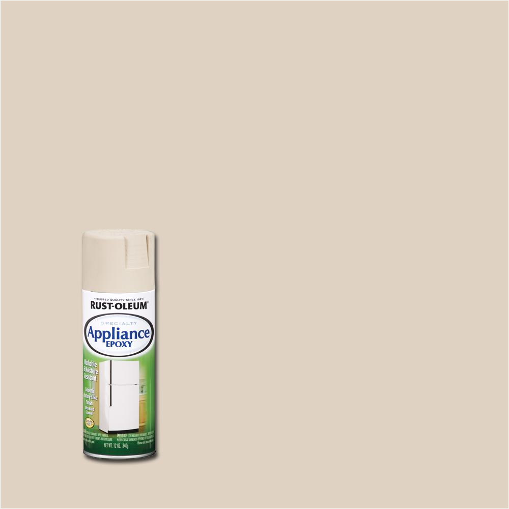 Epoxy Spray Paint for Bathtub Rust Oleum Specialty 12 Oz Appliance Epoxy Gloss Almond