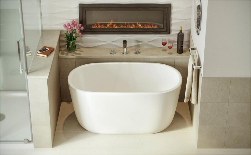 Extra Deep Bathtubs Canada Aquatica Lullaby Nano Wht™ Small Freestanding solid