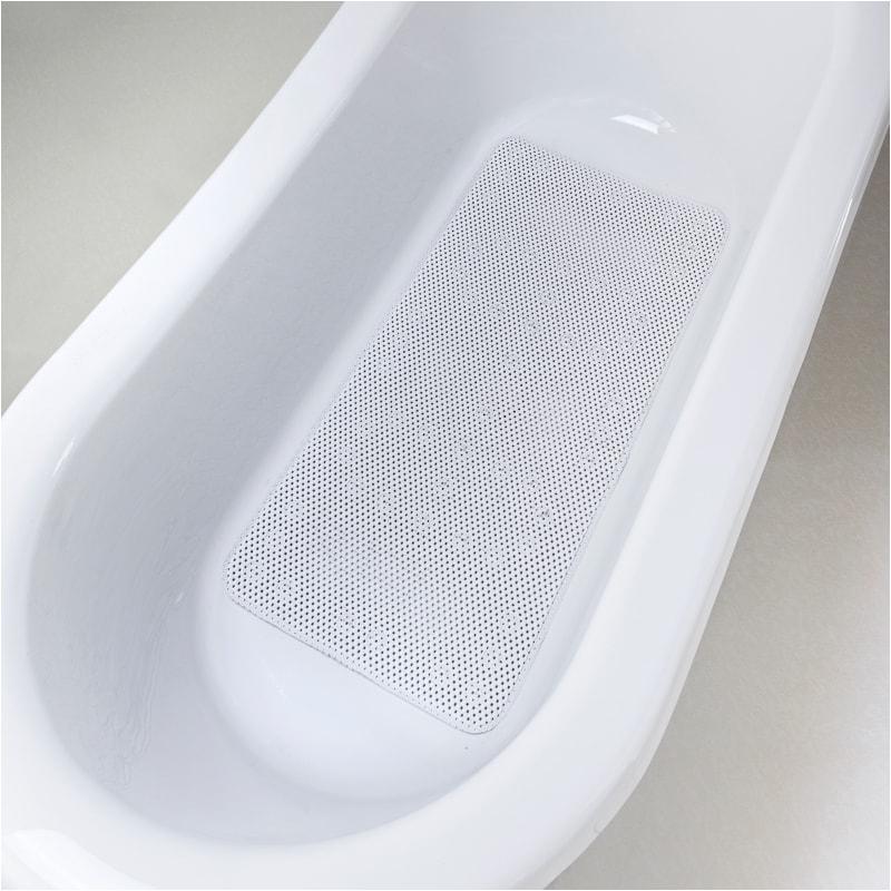 addis extra long bath mat