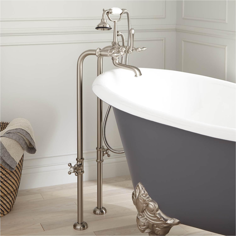 Faucet for Freestanding Bathtub Freestanding Telephone Tub Faucet Supplies & Valves