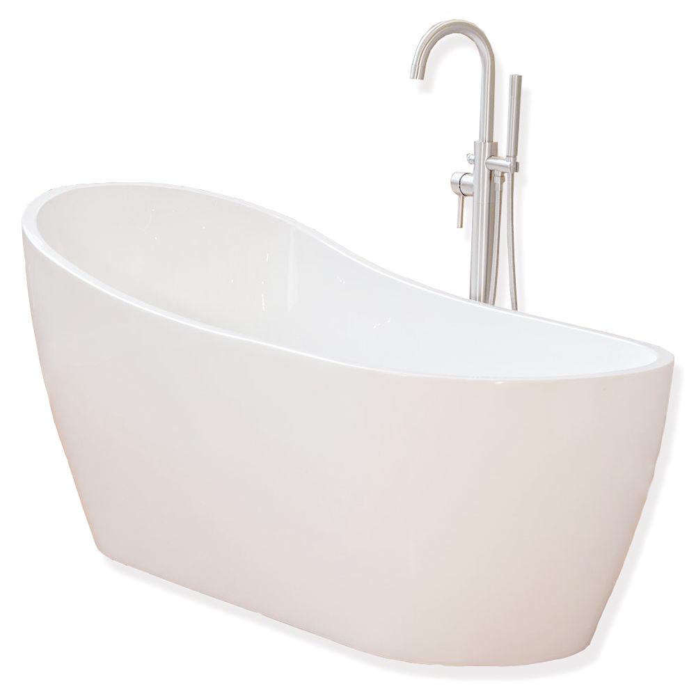Faucets for Freestanding Bathtubs Woodbridge 54 Freestanding Bathtub with Freestanding