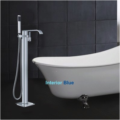 Faucets for Stand Alone Bathtubs Interior Blue Stand Alone Tub Faucets