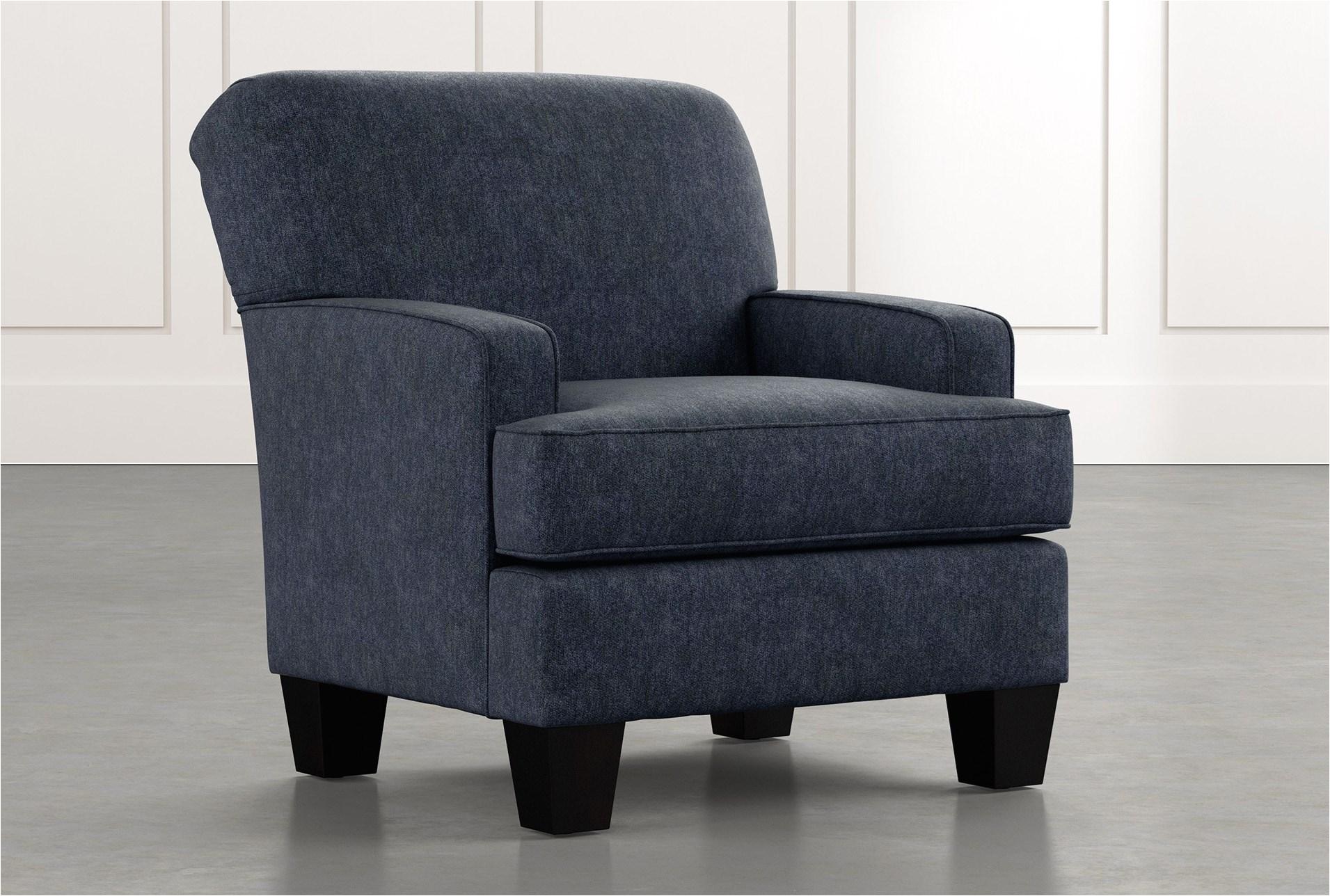 Flynn Navy Blue Accent Chair Burke Navy Blue Accent Chair