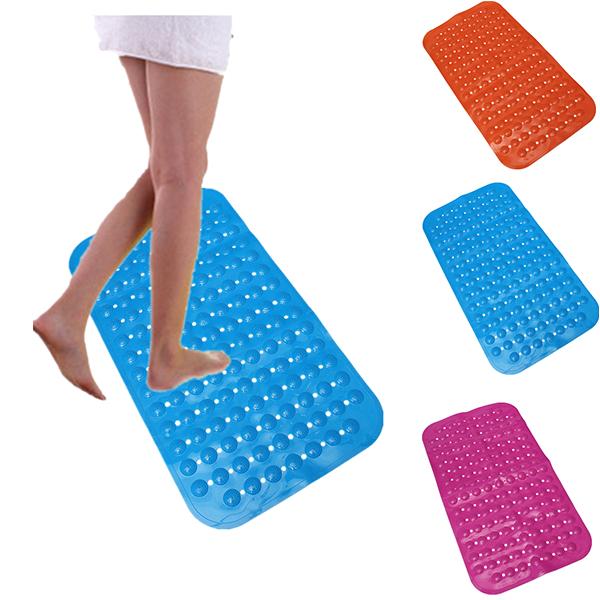 strong suction anti slip shower mat bath bathroom foot massage