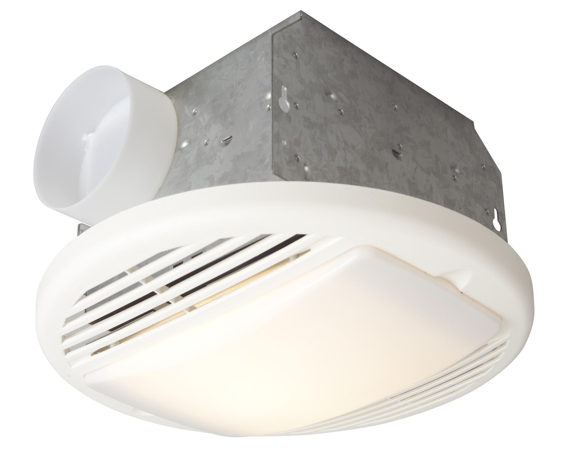 Freestanding Bathroom Exhaust Fan 70 Cfm Bathroom Exhaust Fan Light Designer White Tfv70l