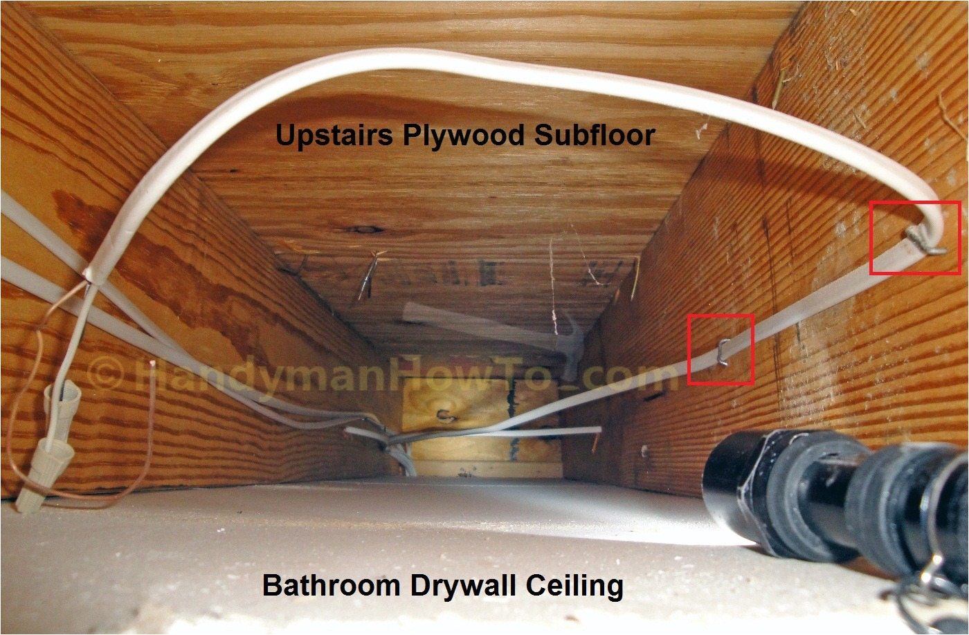 how to replace a bathroom exhaust fan and ductwork part 2