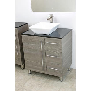 "Freestanding Bathroom Under Sink Cabinets Windbay 30"" Free Standing Bathroom Vanity Sink Set"