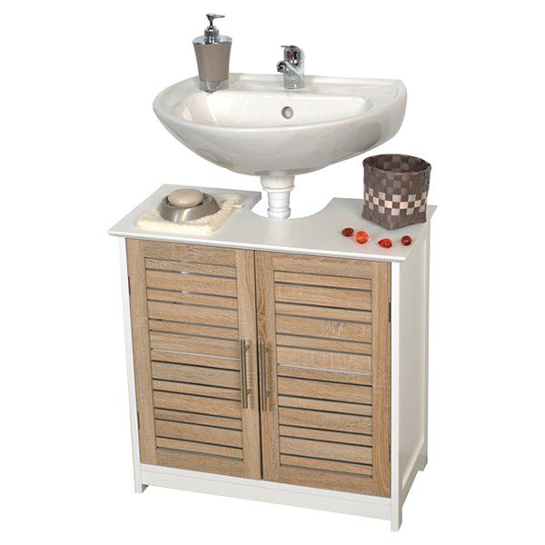 freestanding non pedestal under sink vanity cabinet bath storage wood stockholm
