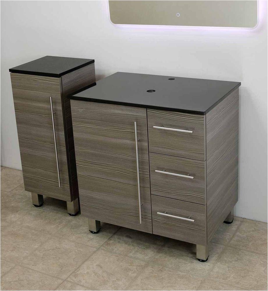 "Freestanding Bathroom Vanity with Sink Windbay 30"" Free Standing Bathroom Vanity Sink Set"