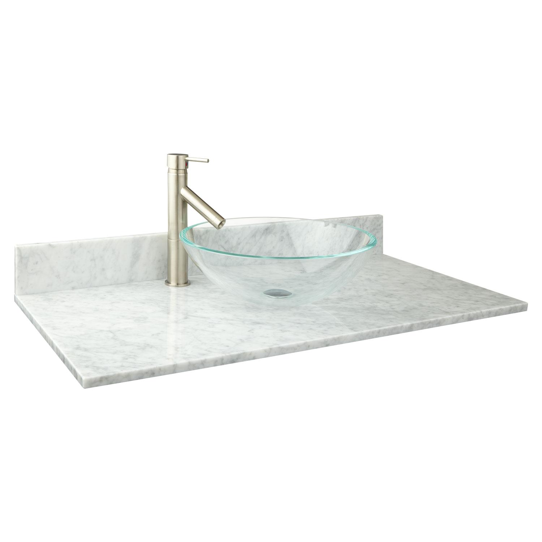 Freestanding Bathroom Vanity with Vessel Sink Narrow Freestanding Baths Marble Vessel Sink Vanity tops