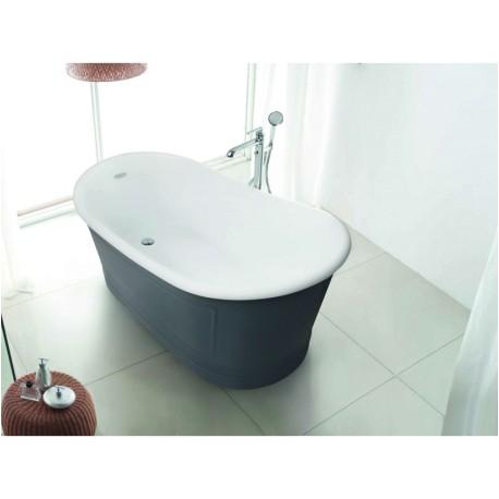 1177 1300mm free standing square bathtub
