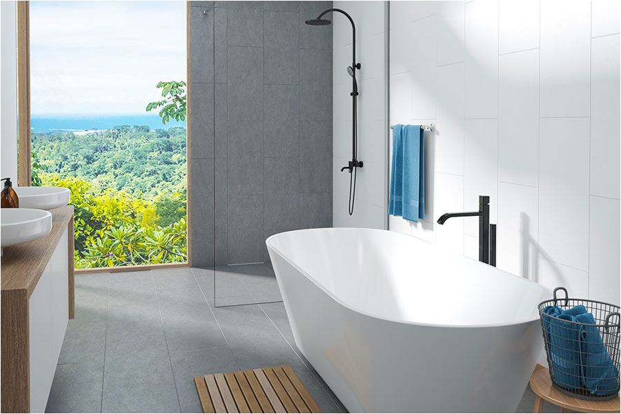 decina elinea 1500mm freestanding bath