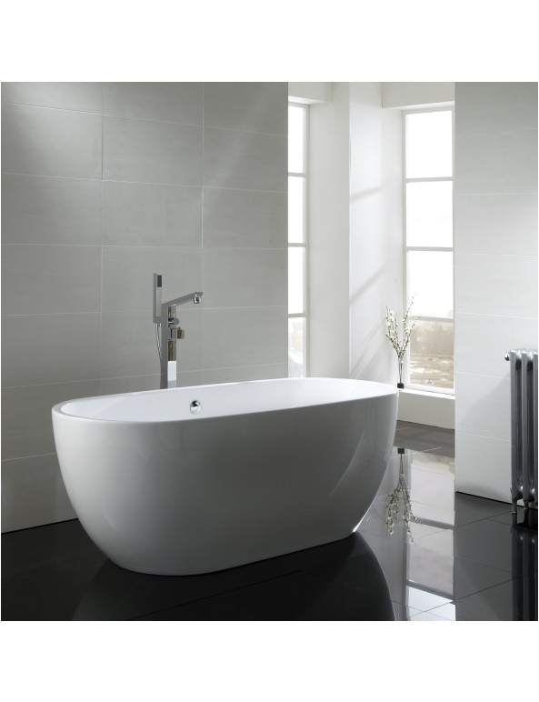 Freestanding Bathtub 1700 Aquabathe Summit Designer Freestanding Bath 1700 X 680mm