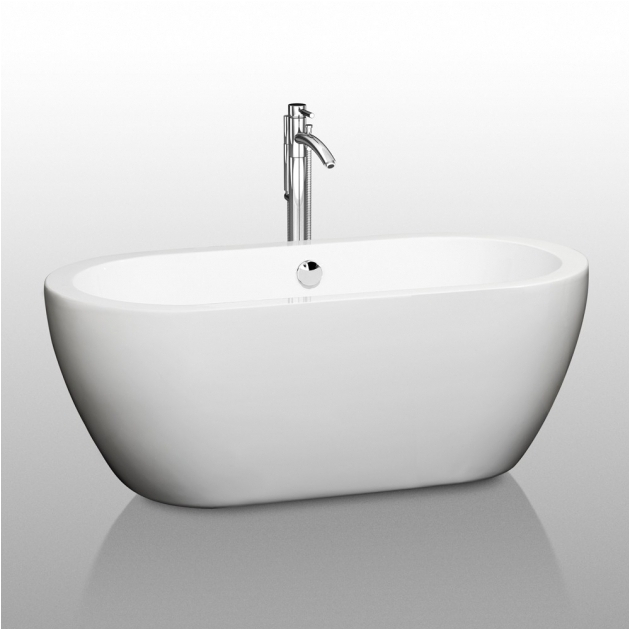 Freestanding Bathtub 57 Inches 53 Inch Bathtub Bathtub Designs