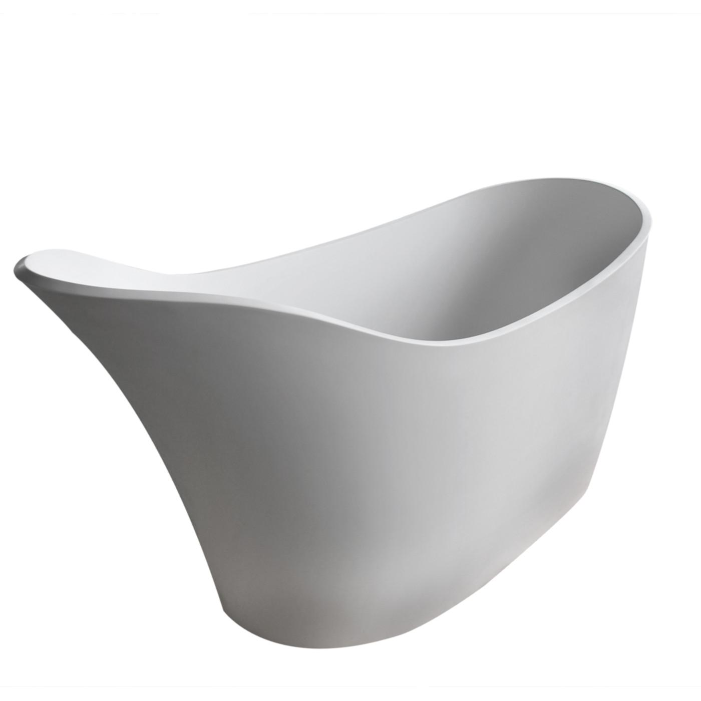 Freestanding Bathtub 6 Ft Alto 5 6 Ft Man Made Stone Center Drain Freestanding
