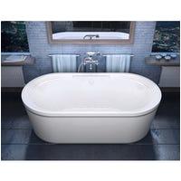 Freestanding Bathtub Air Jets Shop atlantis Whirlpools Breeze 38 X 71 Oval Freestanding