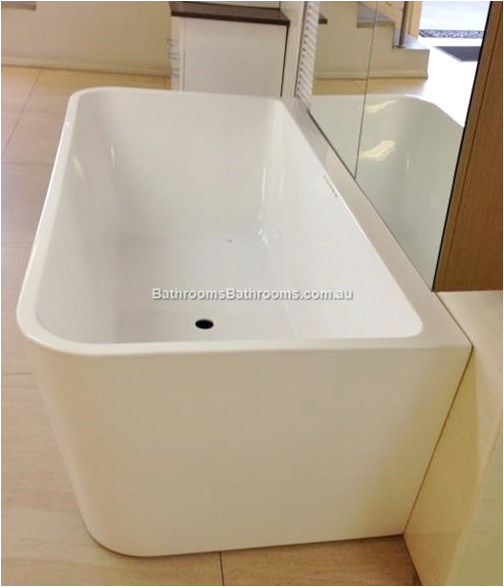 Freestanding Bathtub Brisbane Bath Tub Free Standing Back to Wall Rectangle Square Cube