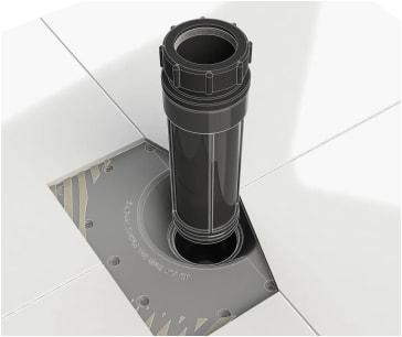 Freestanding Bathtub Drain Installation Maax F2 Drain for Freestanding Tubs