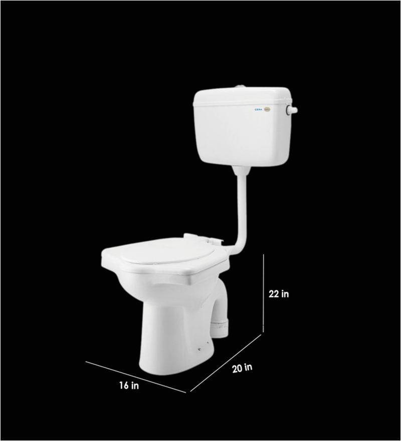 cera universal white ceramic anglo indian water closet