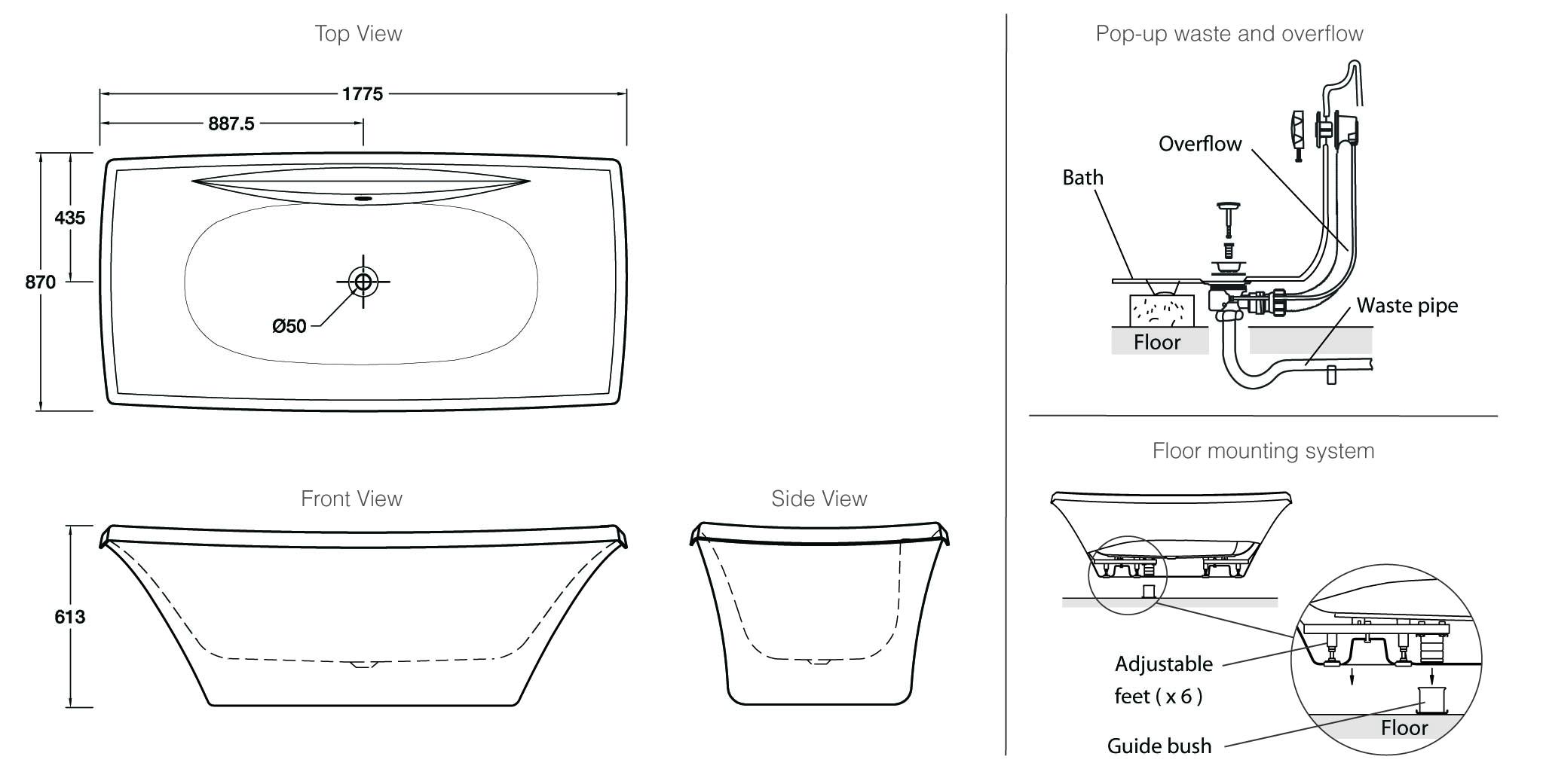 Escale Freestanding Bath?sku= A 0