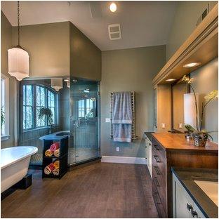 Freestanding Bathtub Edmonton towel Shelf
